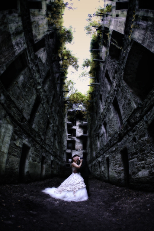 Mandy Amp James Wedding Carnglaze Caverns Amp Bodmin Jail